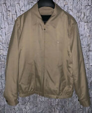 Brooks Brothers 346 Beige Outerwear Coat Zip Out Wool Blend Lining Size M