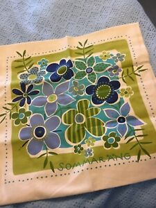 Gudrun Sjoden Cushion Cover Blue Green 30 Inches Square