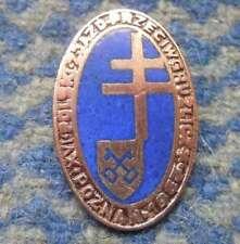 NATIONAL CONGRESS MEDICAL DOCTORS TUBERCULOUS POLAND city POZNAN 1967 RARE PIN