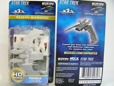 Alle 10 Star Trek Attack Wing Deep Cuts Unpainted Miniatures Wave 1