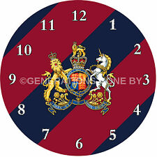 GENERAL SERVICE CORPS GLASS WALL CLOCK