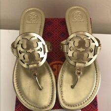 Tory Burch Miller Sandal, Leather: Women's Shoes , Gold
