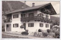 """Ansichtskarte Reit im Winkl - Haus """"Birk"""" - Pension/Gasthaus - schwarz/weiß"""