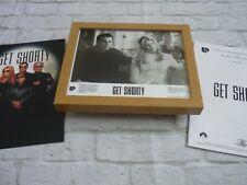 Framed Lobby card Press kit & Promo Photo GET SHORTY JOHN TRAVOLTA RENE RUSSO