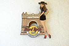 BARCELONA,Hard Rock Cafe Pin,Girls of Rock,GOR 3