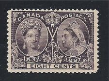 CANADA STAMP #56   --- 8c JUBILEE - 1897 - UNUSED