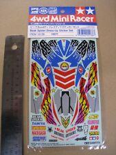Tamiya Vintage 1/32 mini 4WD Sticker for Beak Spider