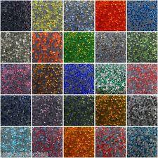 720pcs DMC Iron On Hotfix Crystal Rhinestones Many Colors SS6, SS12, SS16, SS20