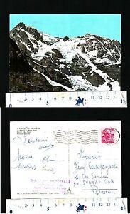 PAESAGGISTICA - IL MASSICCIO DEL MONTE ROSA - ANNO 1963 - BEN CONSERVATA - 53063
