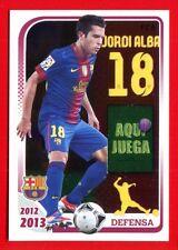 FC BARCELONA 2012-2013 Panini - Figurina-Sticker n. 90 - JORDI ALBA -New