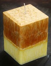 200hr COCONUT LIME PASSIONFRUIT Triple Scented Square Candle FRAGRANCED GIFT