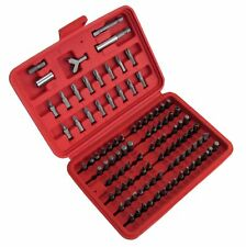 100pc Screwdriver bit set Allen Hex Torx star pin TX tamper proof kit car TX