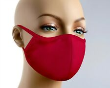 Face Mask With Filter Red Face Mask Breathable Face Mask Red Mask Made in USA