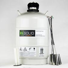 U.S. Solid 15 L Contenitore criogenico azoto liquido LN2 SERBATOIO Dewar