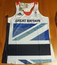 TEAM GB ADIDAS LONDON 2012 OLYMPIC GAMES WOMENS  RUNNING VEST STELLA McCARTNEY