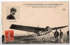 CARTOLINA 1912 L' AVIATEUR PIERRE BARILLON SUR MONOPLAN BARILLON FRERES 8214