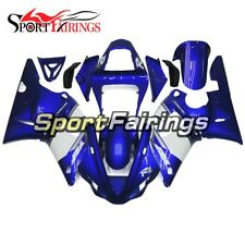 Body Kit For Yamaha R1 2000 2001 YZF 00 01 Injection ABS Fairings Blue White