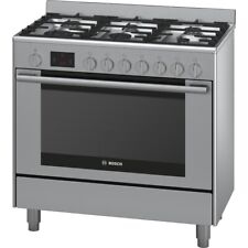 Bosch 90cm Series 6 112L Dual Fuel Freestanding Oven/Stove HSB738357A