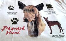 """Pharaoh Hound T-shirt """" White """" 2Xl ( 50 - 52 )"""