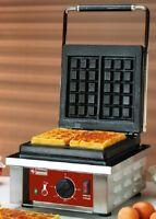 Elektrisches Waffeleisen Waffelautomat Bruxelles-Form 305x440x230mm Gastlando