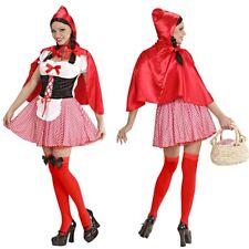 Damen Kostume Verkleidungen Rotkappchen Gunstig Kaufen Ebay