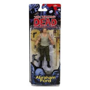 """THE WALKING DEAD ABRAHAM FORD 5"""" FIGURE SERIES 4 McFARLANE TOYS BRAND NEW"""