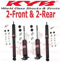 4-KYB Excel-G®  Shocks  2-Front & 2-Rear Camaro Firebird with Leaf Spring