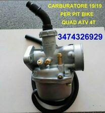 Carburatore  19 Per Quad ATV E Pit Bike 110cc 125cc Nuovo DI OTTIMA QUALITÀ
