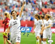 Meghan Klingenberg Thorns NWSL signed Team USA Womens Soccer 8x10 photo 5 JSA