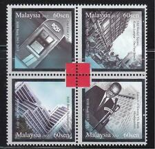 MALAYSIA 2013 100 YEARS OF BANKING EXCELLENCE (RHB BANK) COMP. SET BLOCK 4 STAMP