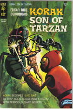 Korak Son of Tarzan Comic Book #21 Gold Key Comics 1968 FINE