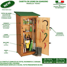 Casetta Piave box in legno trattato da giardino portattrezzi ripostiglio arredo