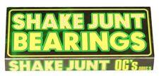 Shake Junt OG's ABEC 5 Skateboard Bearings
