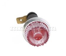 Fiat 600 Topolino Water Dashboard Light Red New