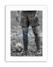 DT BALL RUGBY MUD BOWL MOUNT Picture Canvas art Prints