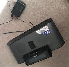 Sony Dream Machine Icf-C1iPmk2 Am/Fm Clock Radio iPod Dock w/Ac Adapter