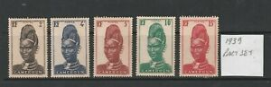 Cameroon Pictures from Cameroon 1939 Fine Mint