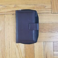 FRANKLIN COVEY 365 Organizer | Compact | Zip-top | Brown