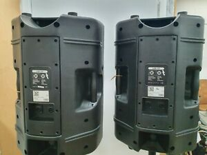"""FS AUDIO 12"""" PLASTIC  2 WAY PASSIVE SPEAKERS 350W RMS ON STANDS"""