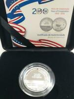 Cape Verde, 200 CVE, 2019, 200 Years of Friendship Cape Verde&USA, Silver Proof