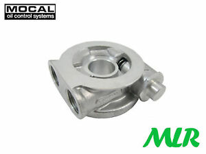 MOCAL OTSP1X OIL COOLER SANDWICH TAKE OFF PLATE WITH THERMOSTAT & SEAL SR