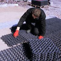SHED BASE KIT 8.6x4 FEET MEMBRANE PLASTIC 8x4 or 6x6ft SHED BASE DRIVE GRID