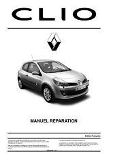 Manuel Atelier Entretien Réparation Technique Maintenance Renault Clio 3 - Fr