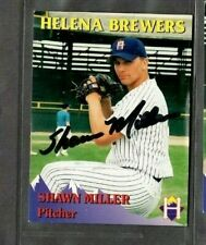 Rocky Mountain Motors #14 Shawn Miller Helena Brewers signed autograph (E47)