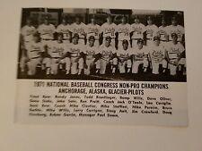 Anchorage Alaska Bump Wills Mesa Community College 1971 Baseball Team Picture