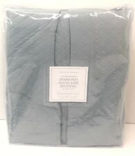 Restoration Hardware Vintage-Washed Diamond Matelasse Bed Skirt Twin Pacific $99
