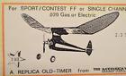 "Megow's 1940 ""RANGER"", Laser Cut, W/S 30 1/2"", .020 Power"
