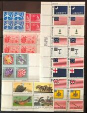 Lot of United States Blocks of 4 Stamps MNH