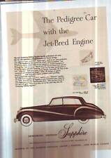 2 ORIGINAL ARMSTRONG SIDDELEY ADS LAMINATED   WHITLEY plus road test