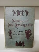 Songs Of Two Savoyards - Music And Lyrics By Gilbert And Sullivan 1894 (35a)